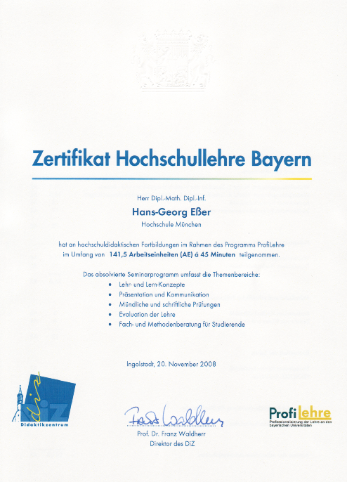 Hans-Georg Esser - Homepage